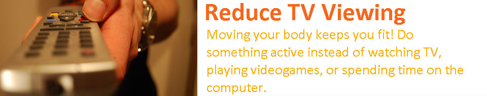 Reduce TV Viewing